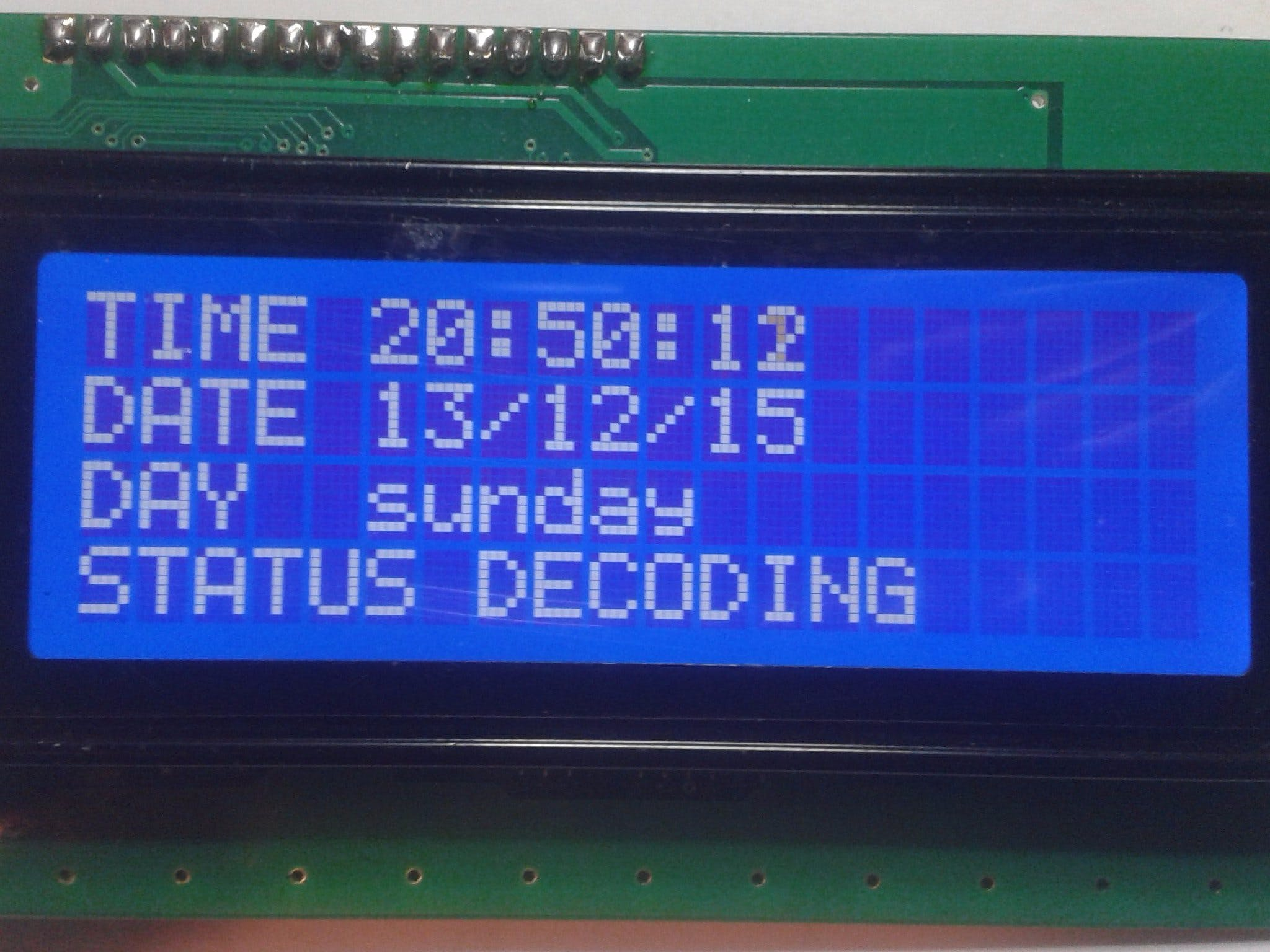 WEB radio dcf decoder
