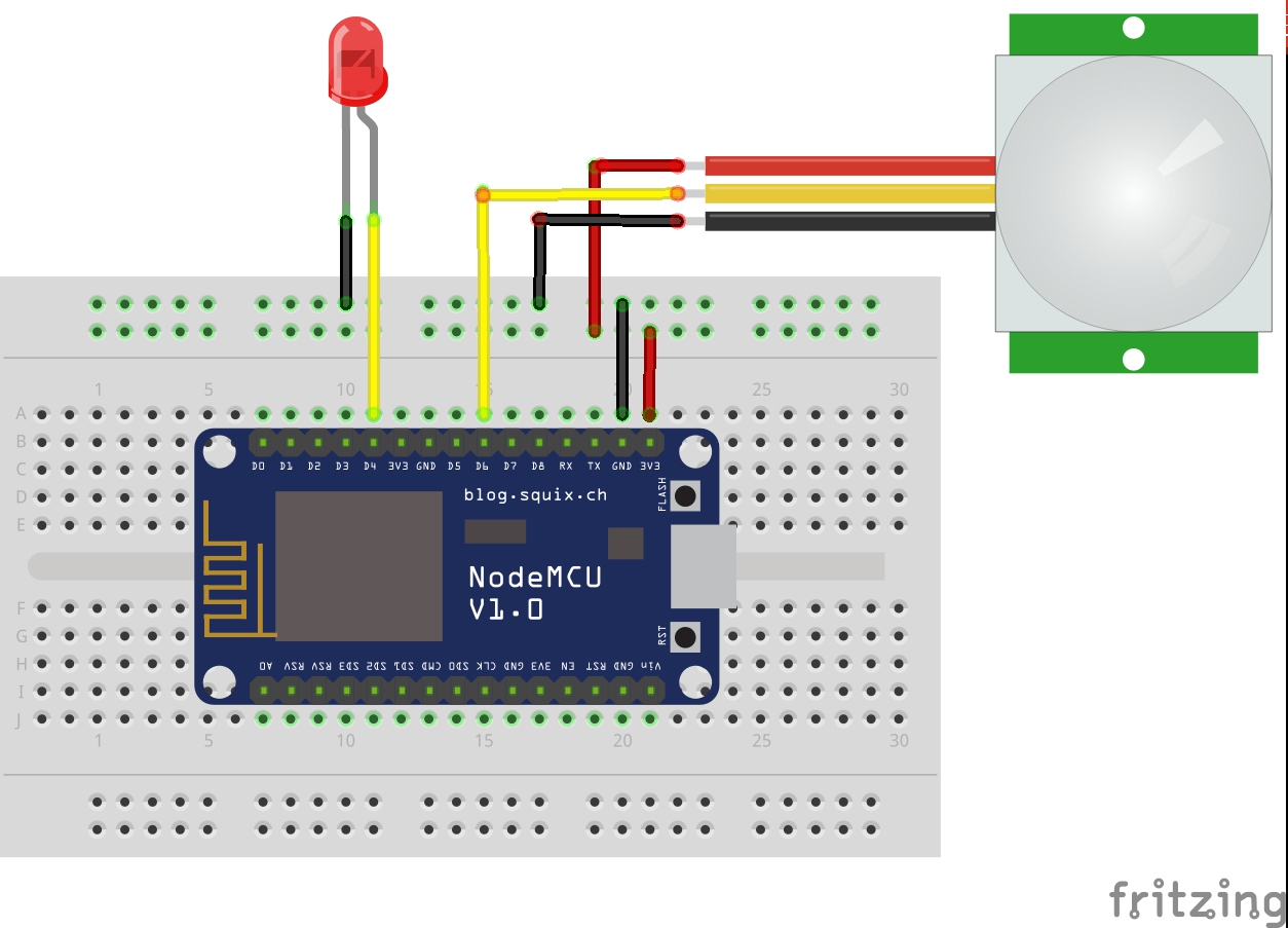 Build A People Counter For 30 Using Nodemcu Hackster Io