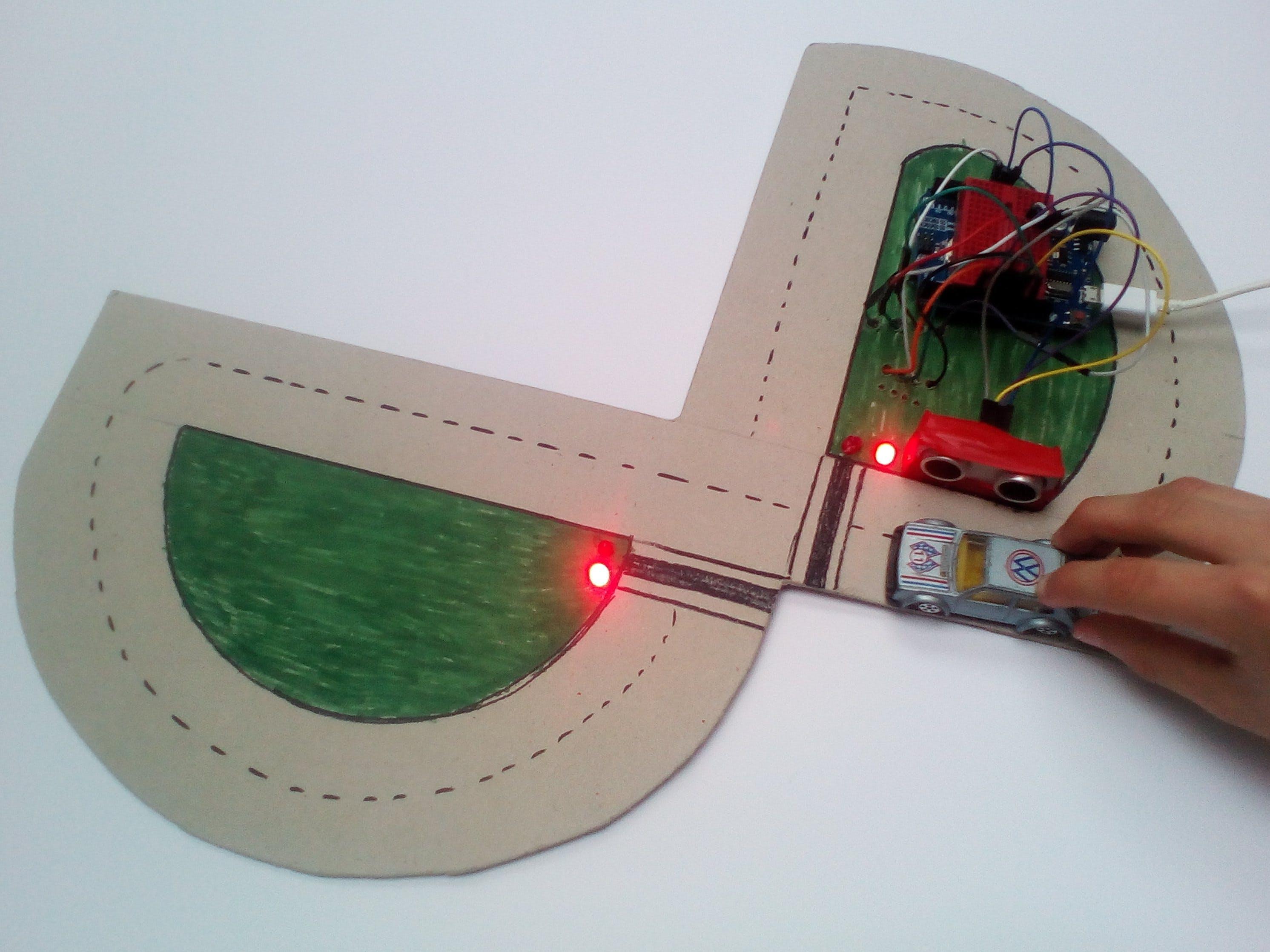 Arduino Crossroad and Traffic Lights