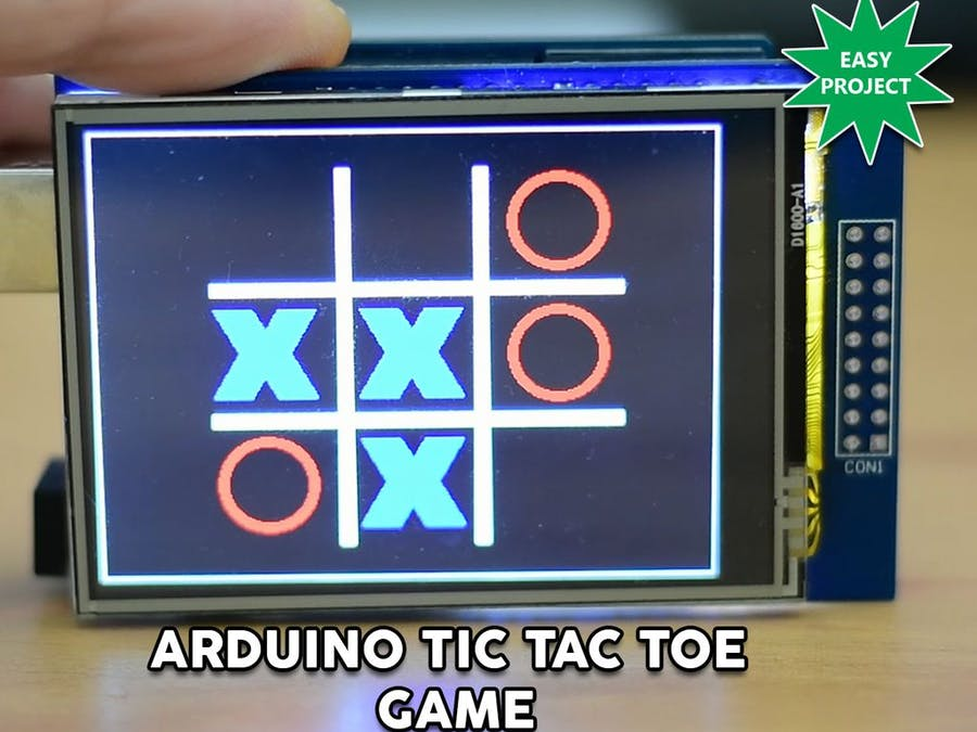 Arduino Touch Tic-Tac-Toe Game - Arduino Project Hub