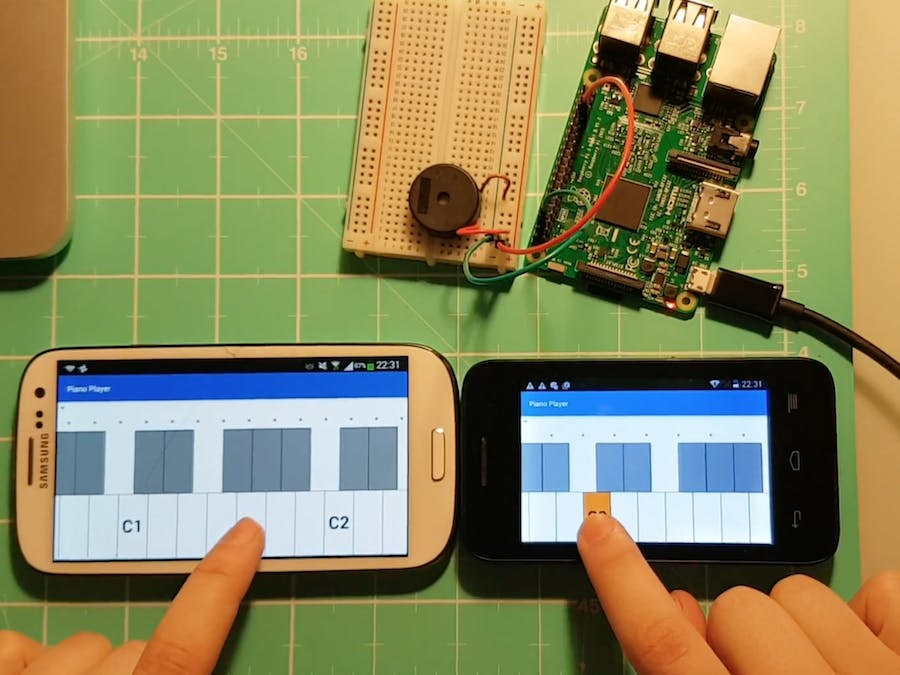 Distributed Piano Using Android Things - Hackster io