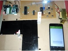 DENSITY BASED TRAFFIC SIGNAL USING GSM MODULE