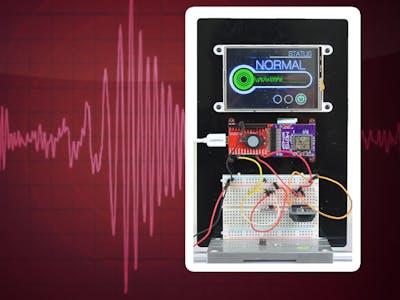 Tweeting Earthquake Sensor