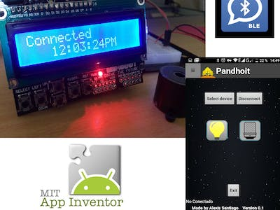 BLE Clock with Arduino and App Inventor