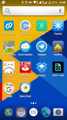 Demo clock App Icon