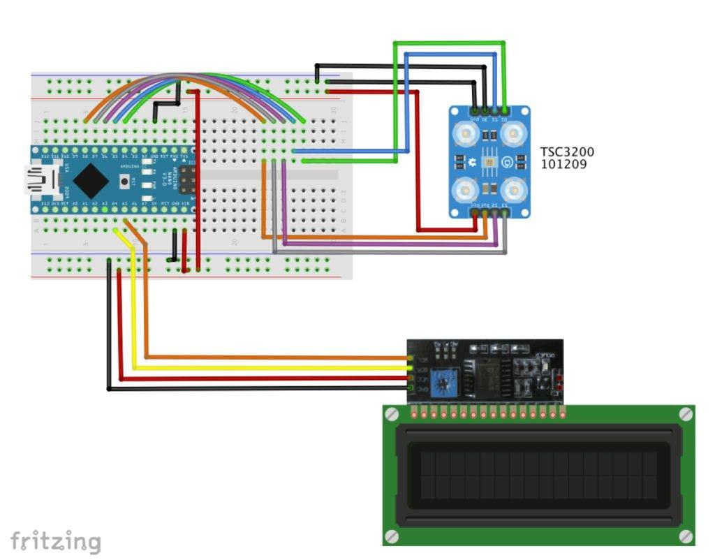 Arduino Color Detection Resistors Colour Code Tutorial Circuits Resistance Coding