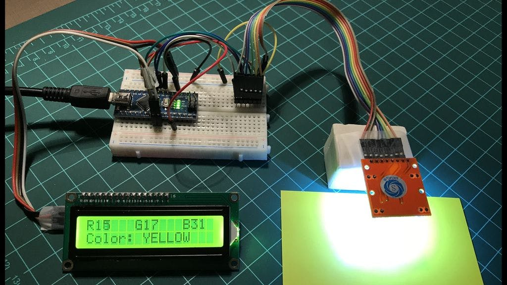 Arduino Color Detection
