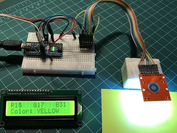 Arduino color detection hackster