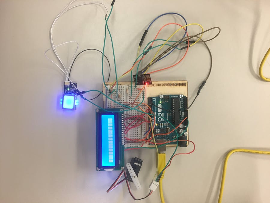 Fingerprint Scanning Garage Door Opener Hackster