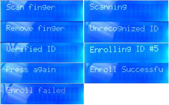 Fingerprint Scanning Garage Door Opener Arduino Project Hub