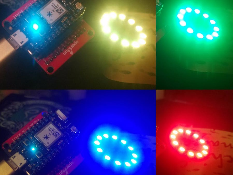 Full Color Alexa Controlled Lights - FastLED & Photon - Hackster io