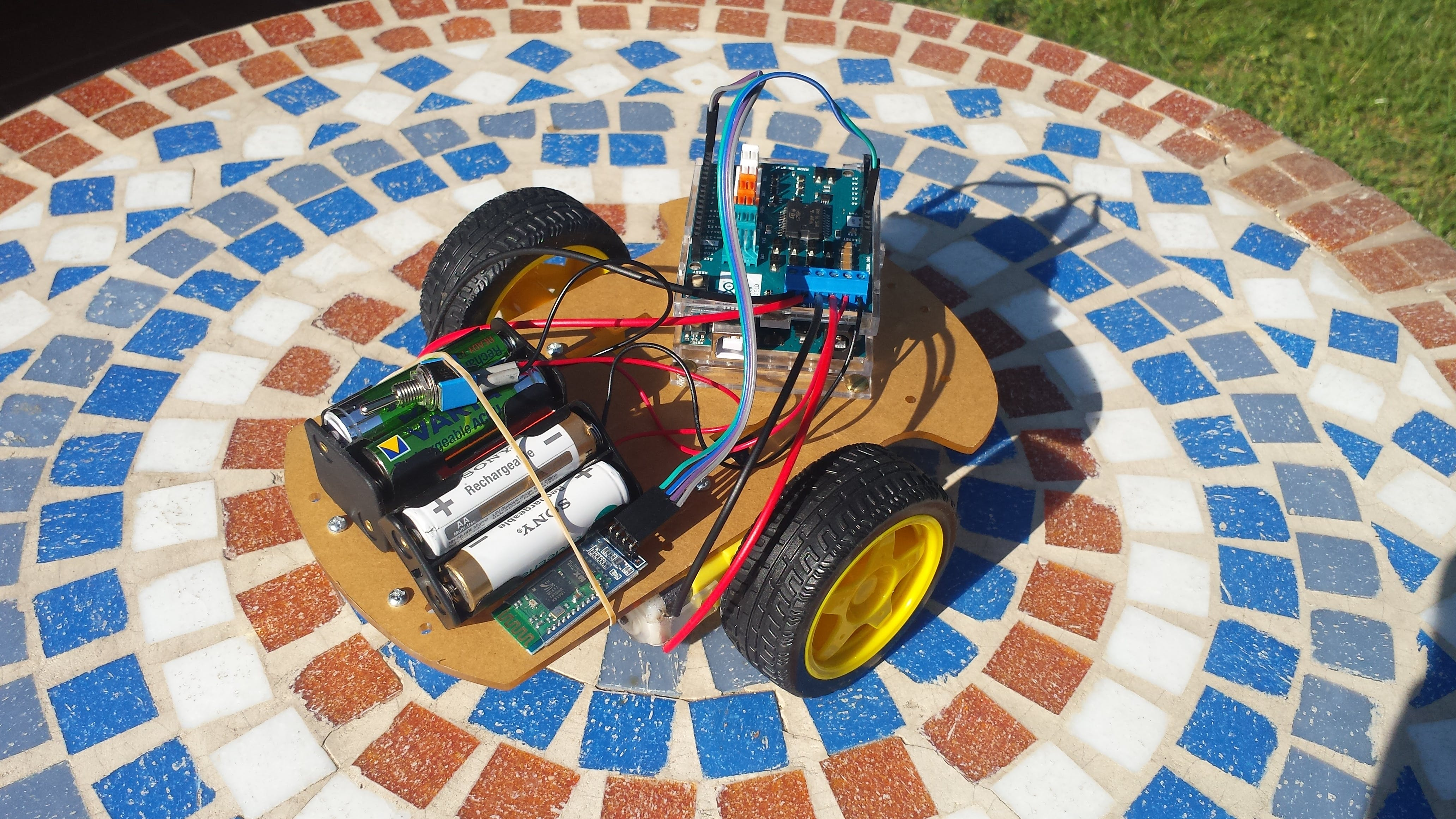 CARMAGEDDON: The Agile Arduino Car