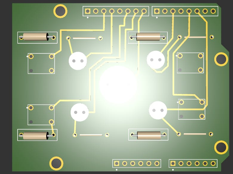 Breadboard to PCB Part 2 - Designing a PCB using Upverter