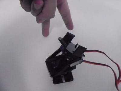 Finger Gesture-controlled Toy Crossbow