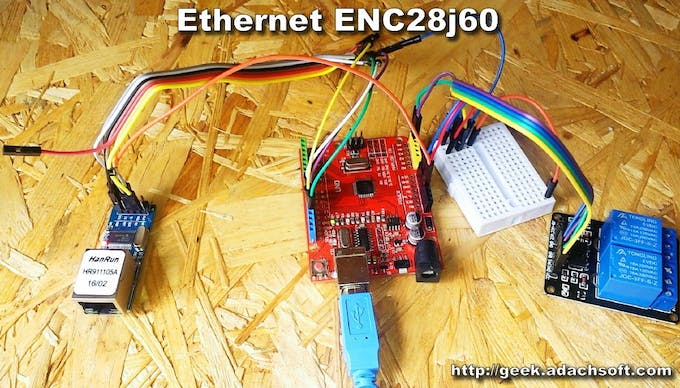 Incredible How To Make Lan Ethernet Relay Switch Using Arduino Uno Arduino Wiring 101 Akebretraxxcnl