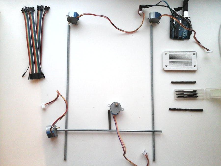 CNC Flatbed Pen Plotter