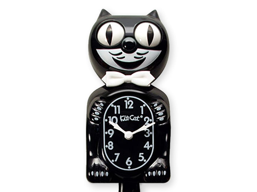 Kit-Cat Clock - **Now with Google Voice**