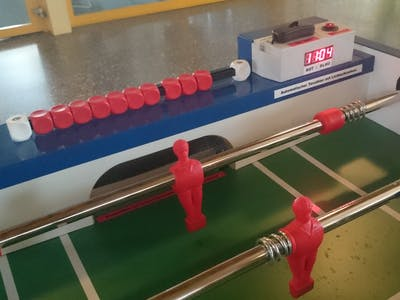 Automatic Arduino Goal Counter for Table Football/Soccer