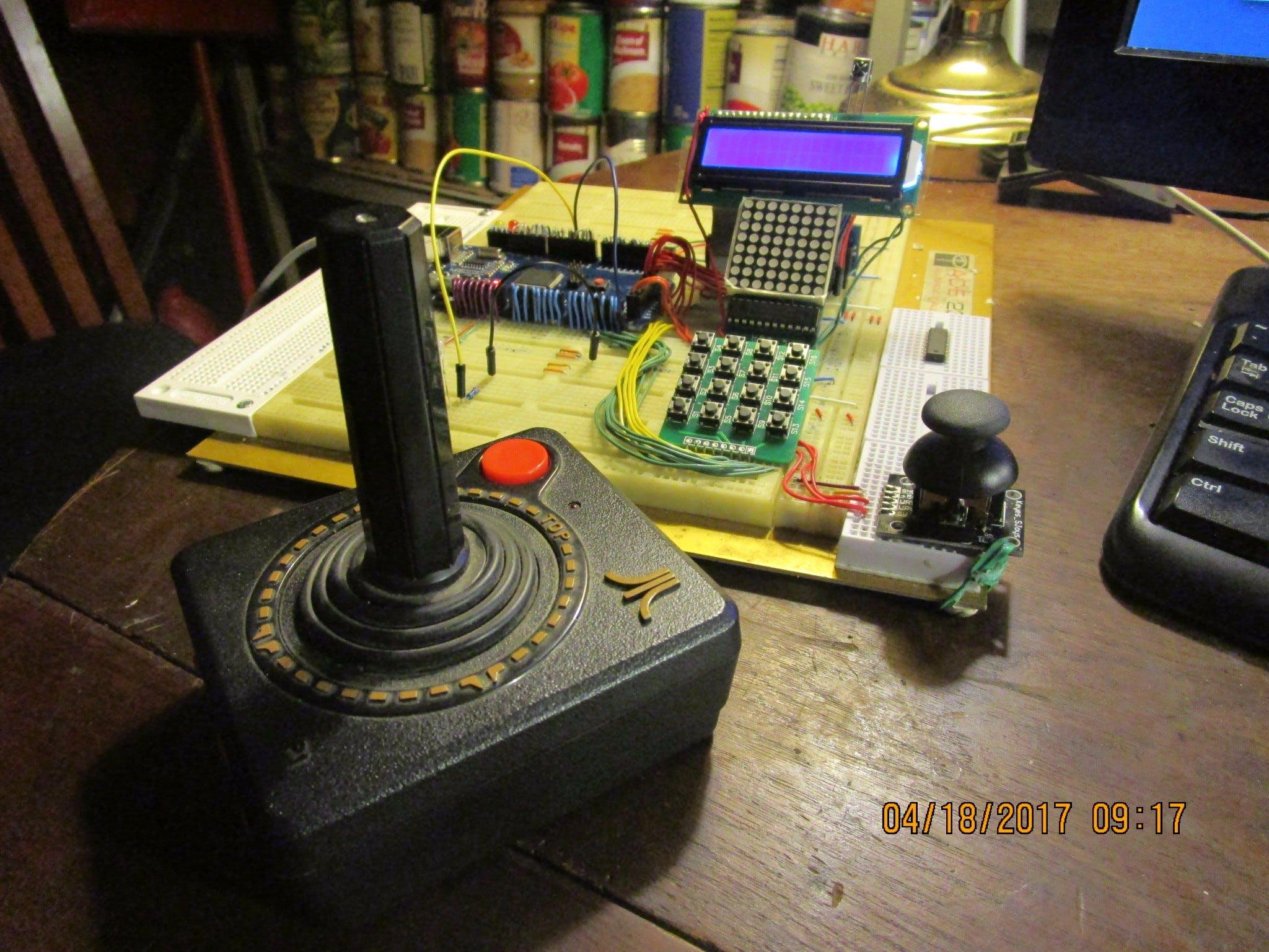 MEGA BREAD - Atari Joystick Linking for Robotics Control