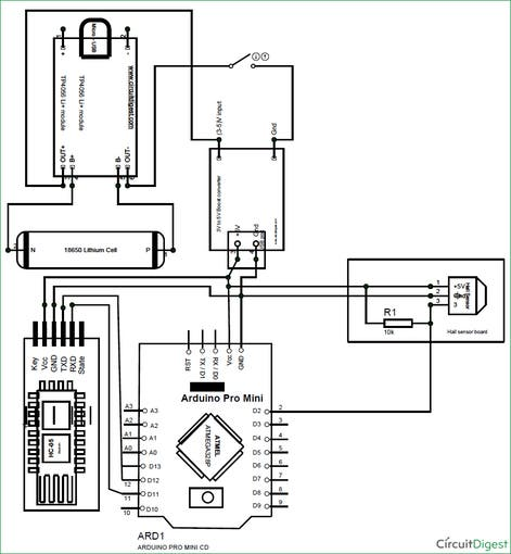 Speedometer using arduino and processing android app circuit diagram f4znc0dab7