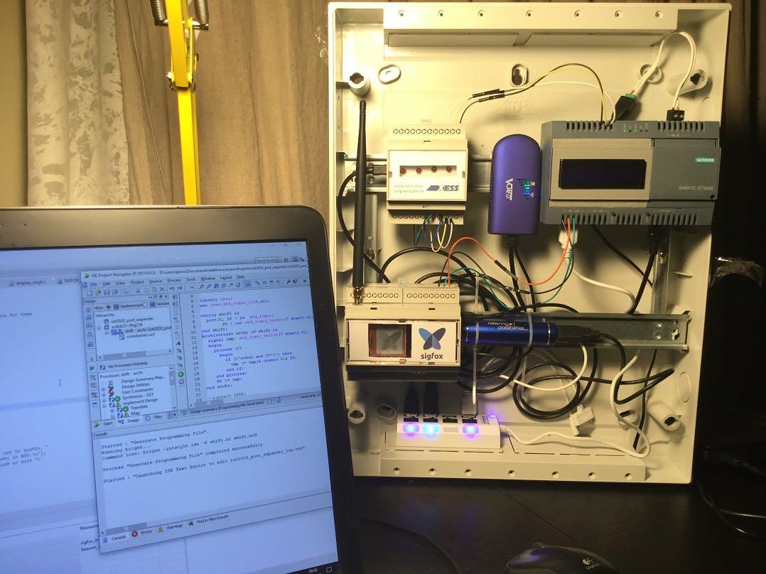 Testing the FPGA design