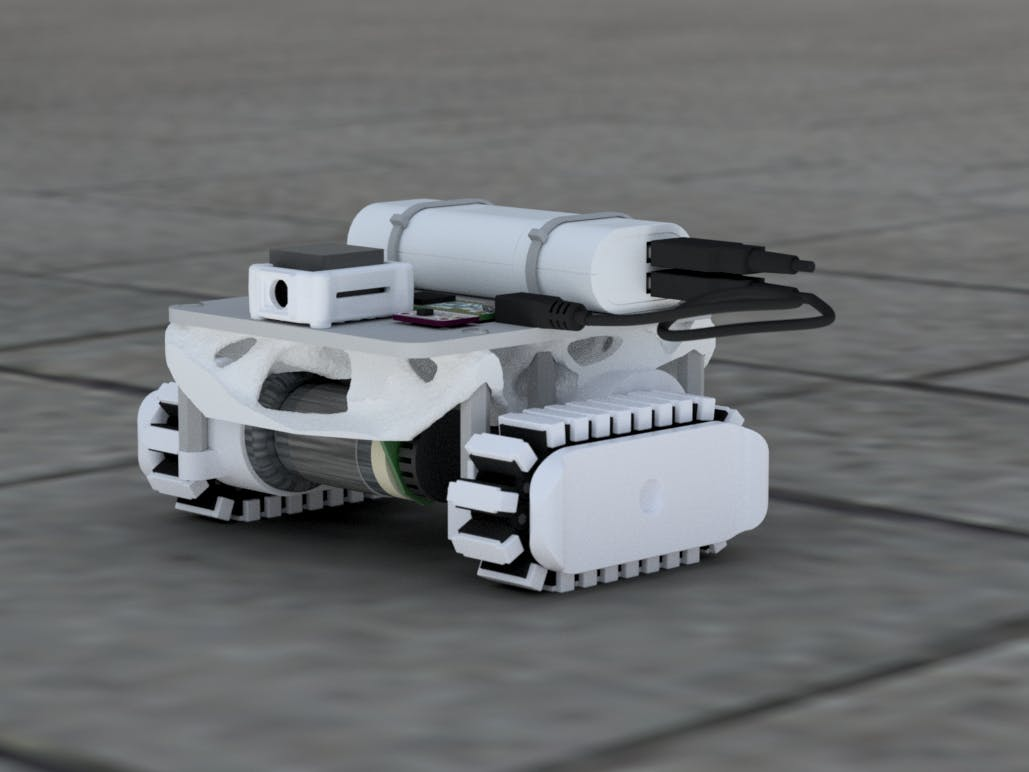 Crawler Robot with Smart Machine Vision