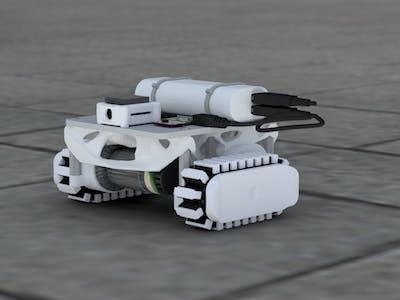 Crawler Robot with Smart Machine Vision