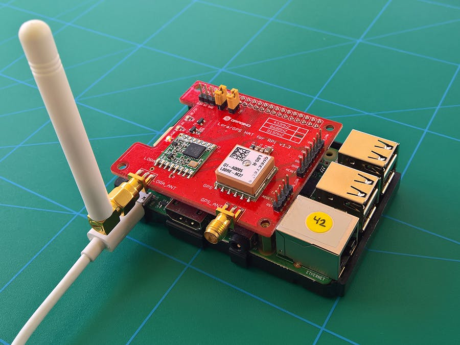 "A LoRaWAN ""The Things Network"" Gateway for Windows IoT Core"