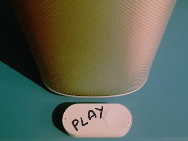 Play your favourite Sonos Playlist with an Amazon Dash