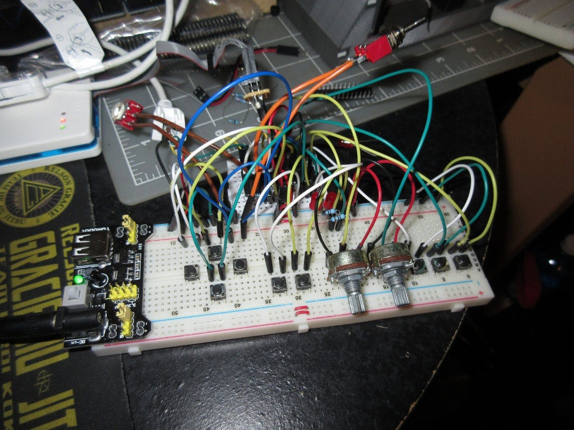 DIY NES Classic Advantage Controller