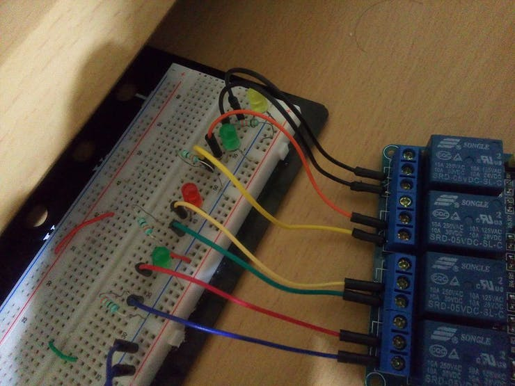 Relay Module and LED´s