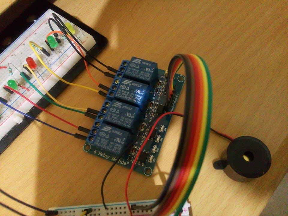 Relay module and buzzer