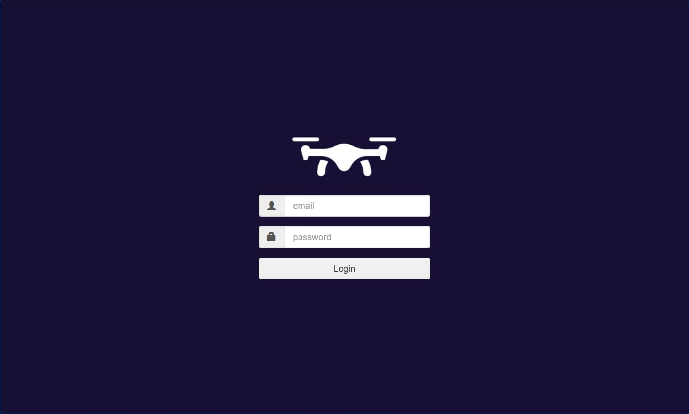 DroneRemote Web App