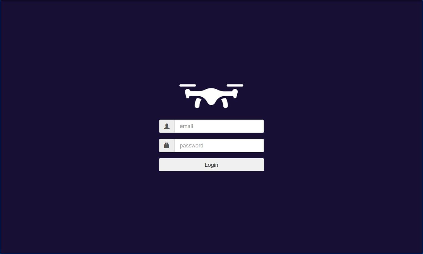 DroneRemote Web App