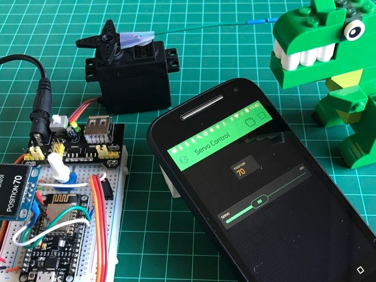 IoT Made Simple: Servo Control With NodeMCU and Blynk