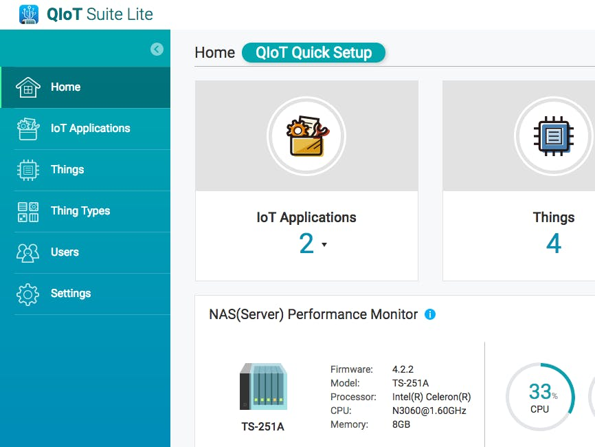 Connect Intel Edison to QNAP NAS via QIoT Suite Lite