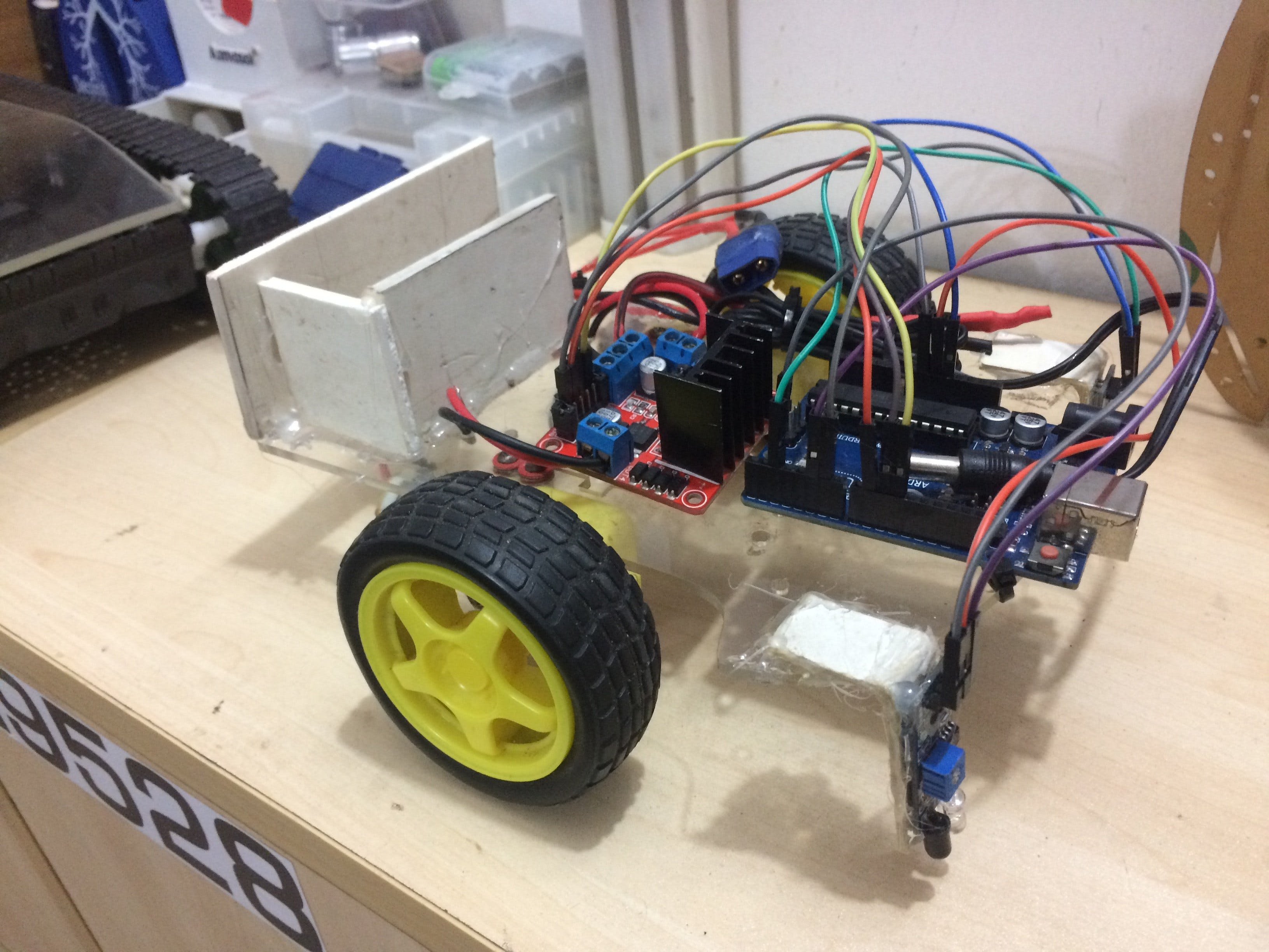 Easiest Line Follower Robot Arduino Project Hub