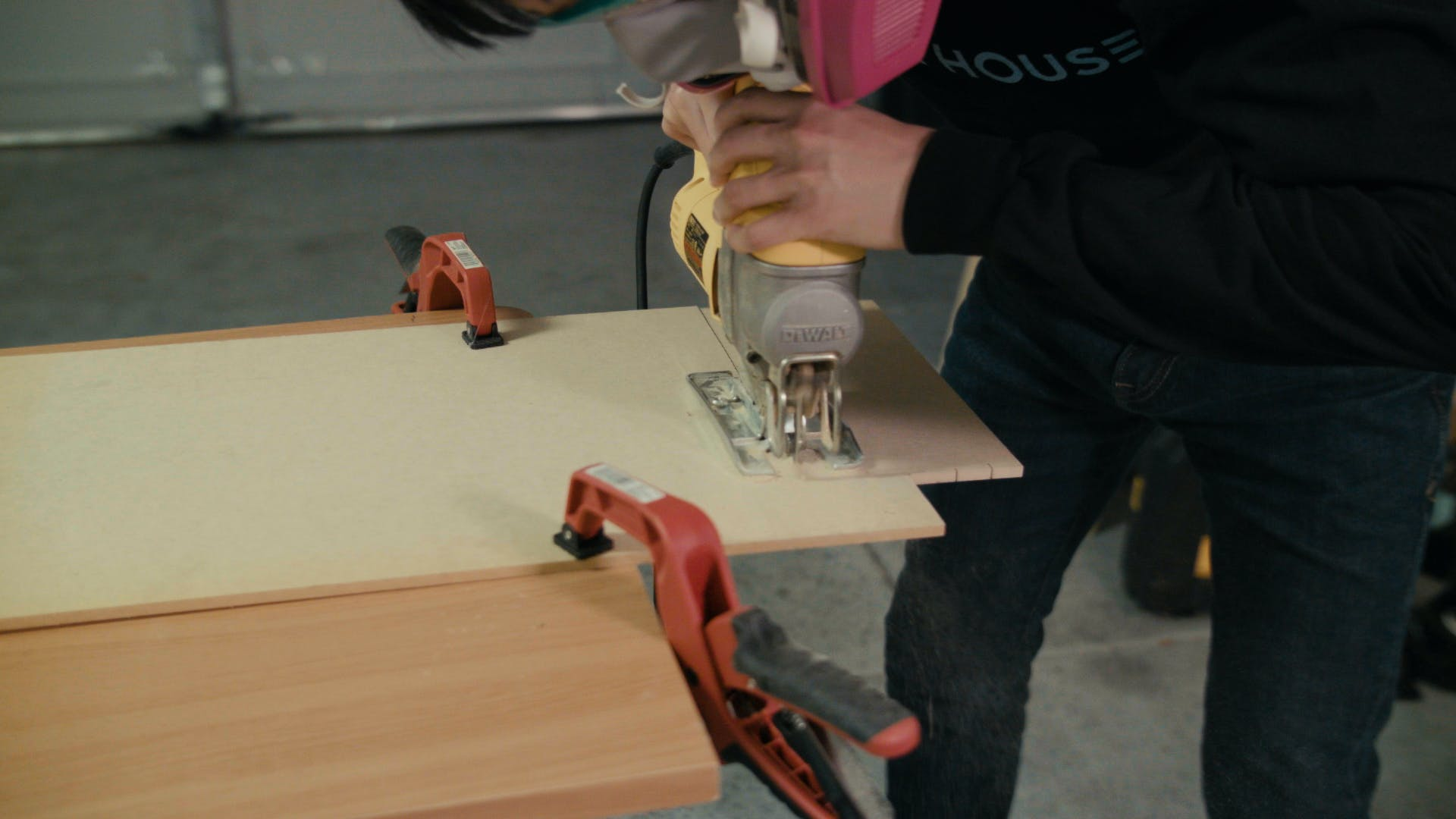 Making a wooden box to hold the cooler