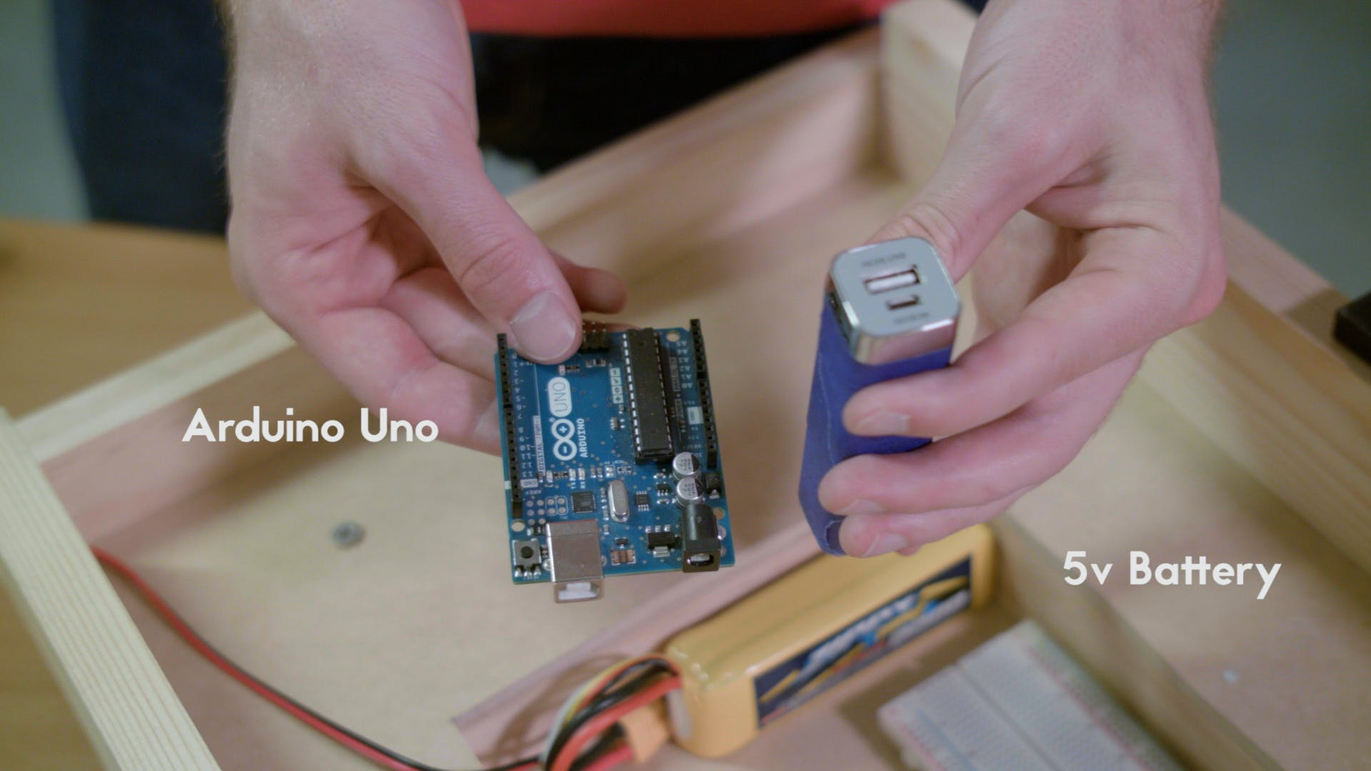 Arduino Uno and 5v Battery