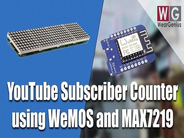 WeMOS & MAX7219 based Information Display System - Hackster io