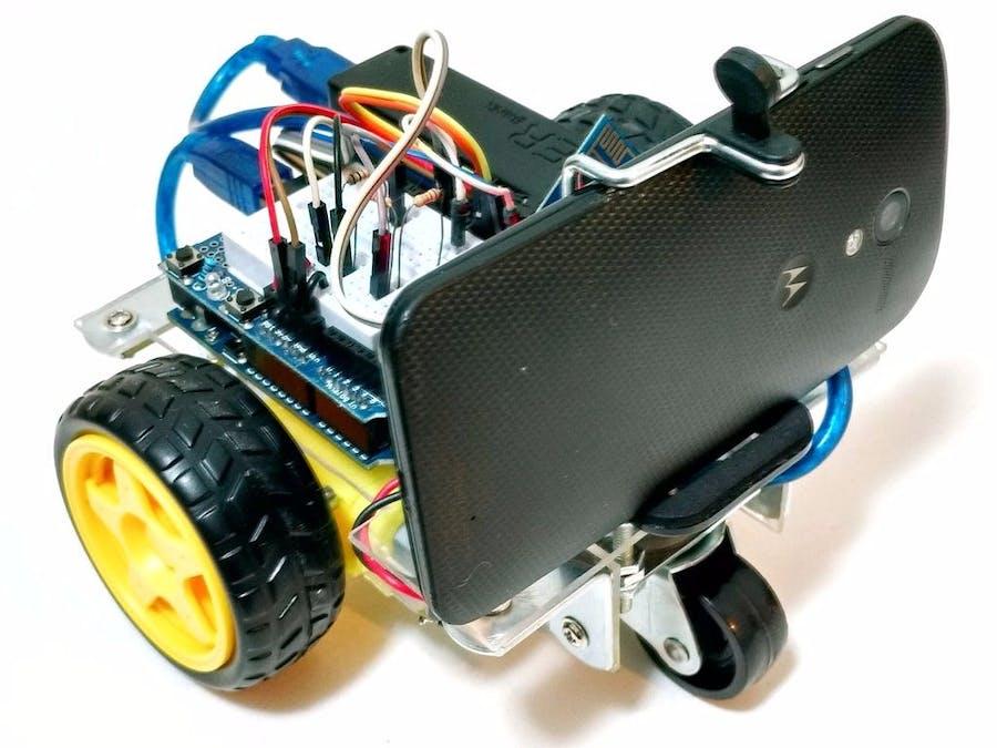 WiDC: Wi-Fi-Controlled FPV Robot