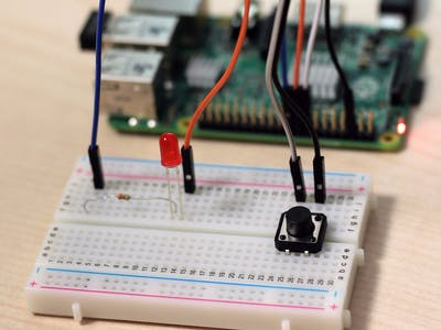 Push Button with Raspberry Pi