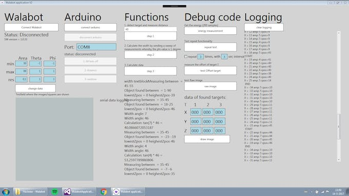 Debugging and Logging a lot of data