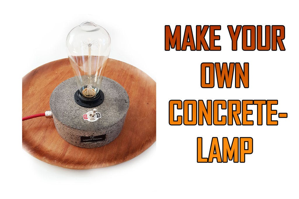 Exclusive Concrete Lamp