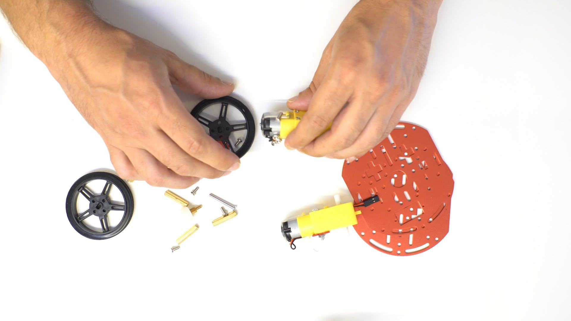 Mini Round Robot Chassis Kit