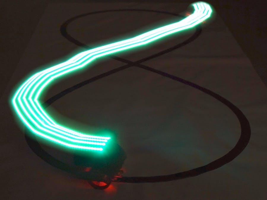 Light Painting Line Follower