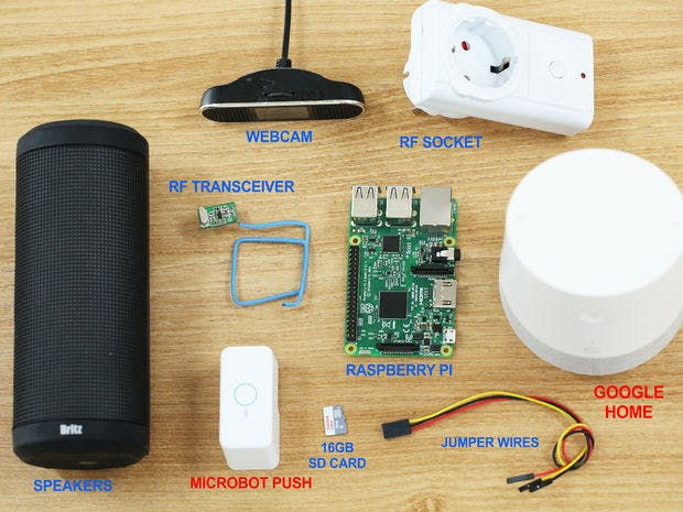 Boost Your Google Home With Prota OS For RPi - Hackster io
