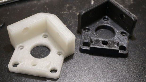 Some test angle mount brackets