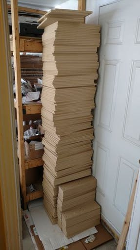 A stack of 50 sets
