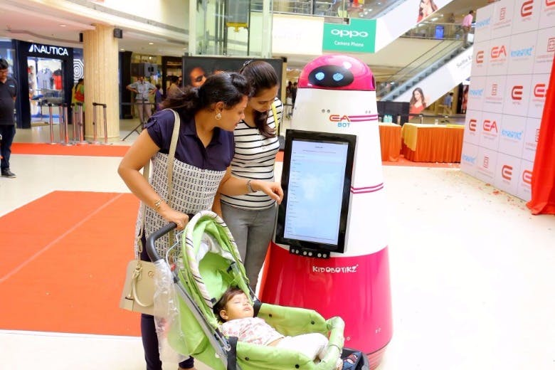 Mall Assistant Robot